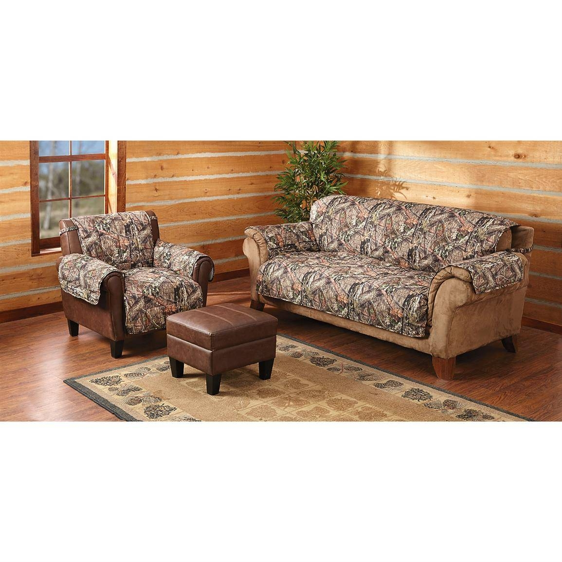 Mossy Oak Camo Furniture Covers - 647980, Furniture Covers At with Camo Sofa Cover (Image 16 of 30)
