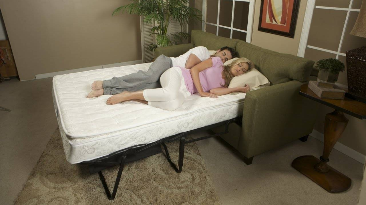 Most Comfortable Sleeper Sofa - Youtube intended for Comfort Sleeper Sofas (Image 20 of 30)