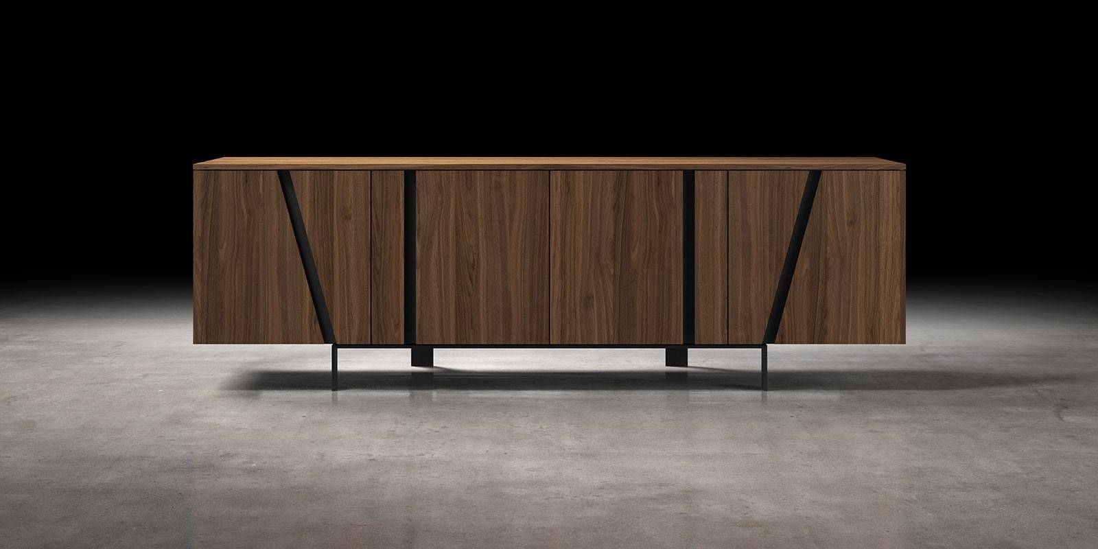 Mott Modern Sideboard | Modloft With Regard To Modern Sideboard Furniture (View 2 of 30)