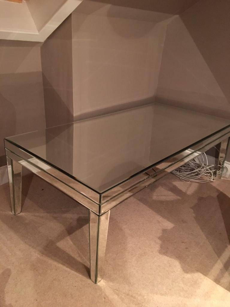 M&s Mirrored Coffee Table | In Largs, North Ayrshire | Gumtree intended for M&s Coffee Tables (Image 18 of 30)
