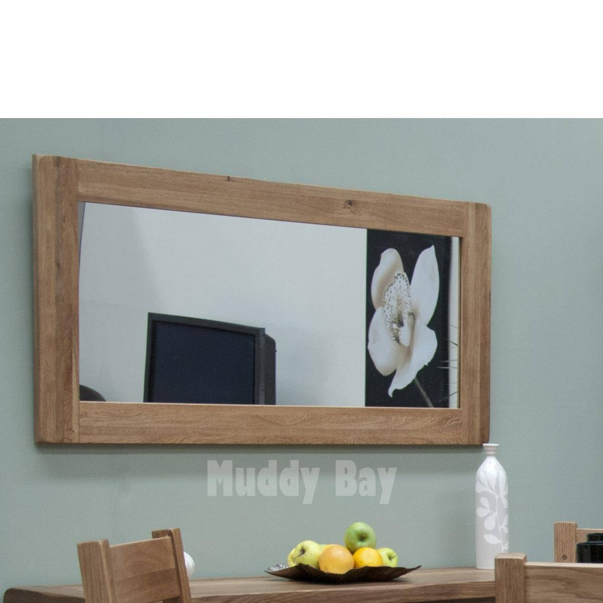 Muddy Bay :: Product Ranges :: Rustic Oak :: Rustic Oak Mirror pertaining to Rustic Oak Mirrors (Image 9 of 25)