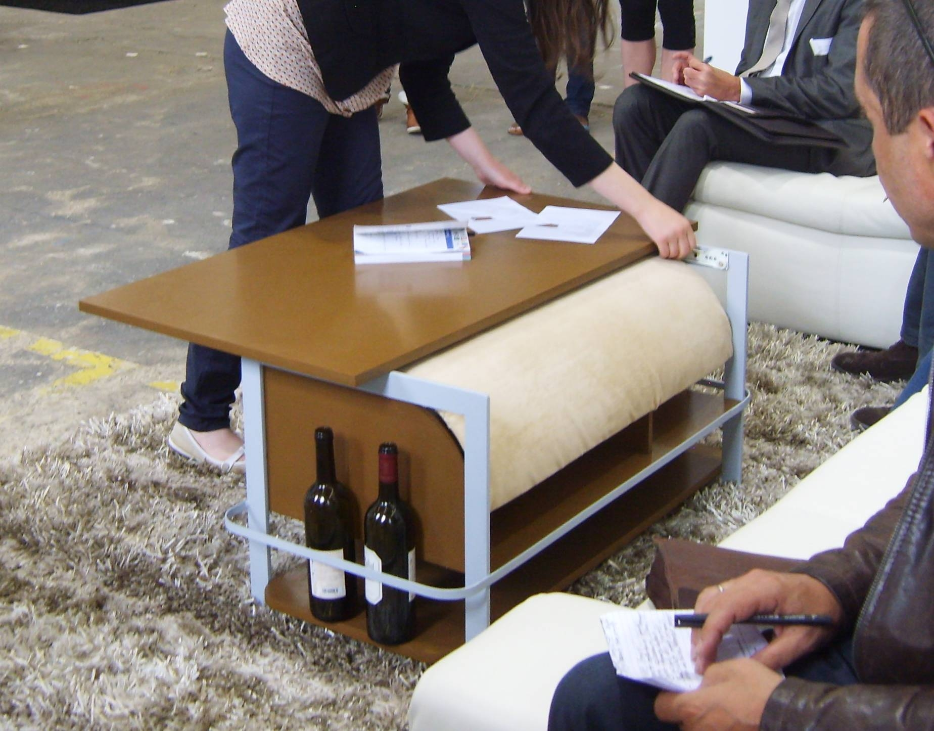 Multifunctional Coffee-Table For Living-Roombubuioc Maria At throughout Coffee Table Footrests (Image 25 of 30)