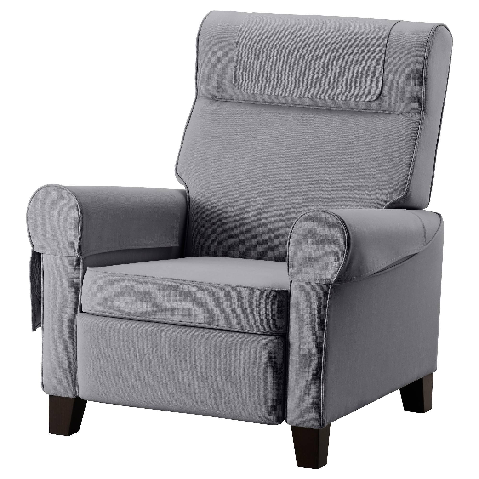 Muren Recliner - Nordvalla Beige - Ikea pertaining to Fabric Armchairs (Image 21 of 30)
