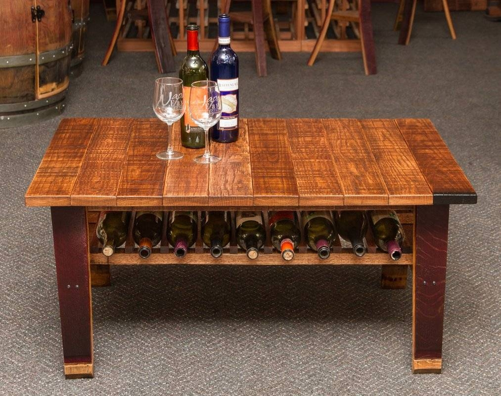 Napa East Collection Wine Country Coffee Table | Wayfair with regard to Country Coffee Tables (Image 29 of 30)
