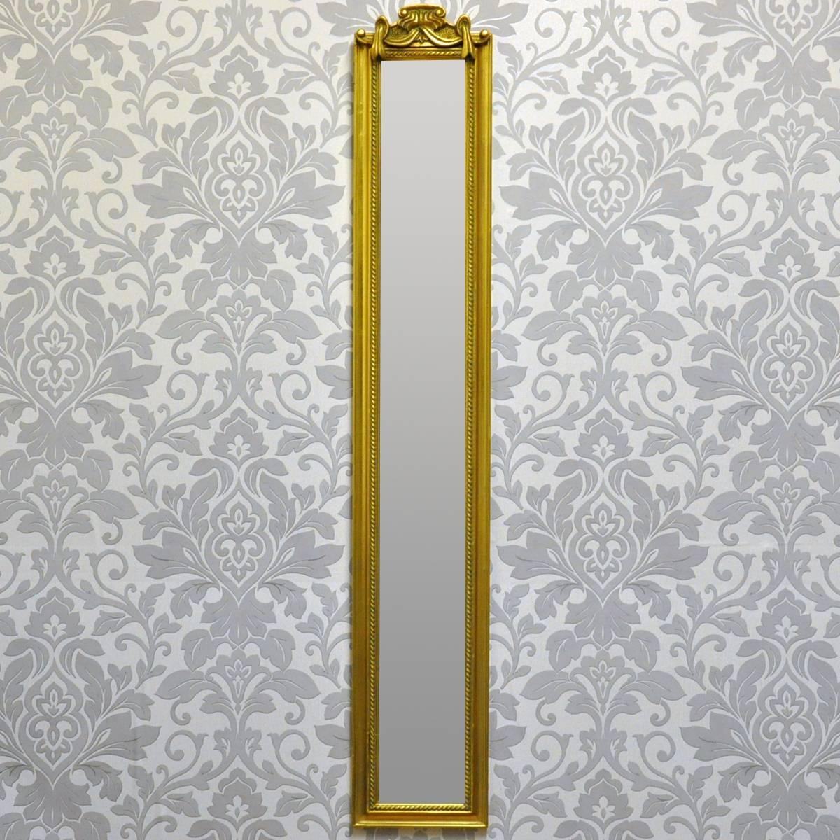 Narrow Long Length Skinny Mirrors for Long Narrow Mirrors (Image 16 of 25)