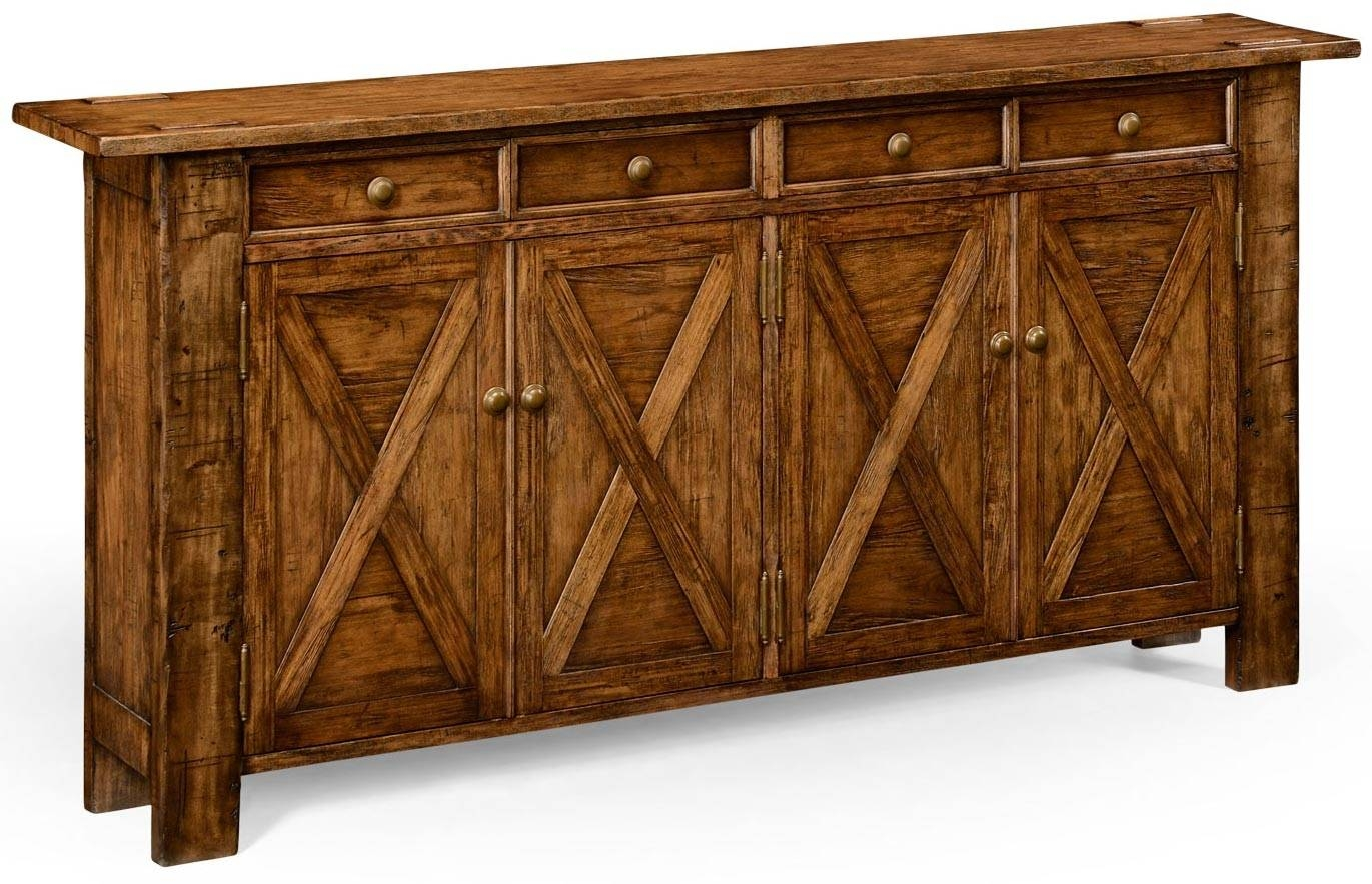 Narrow_Sideboard_Or_Buffet_P intended for Narrow Sideboards (Image 14 of 30)