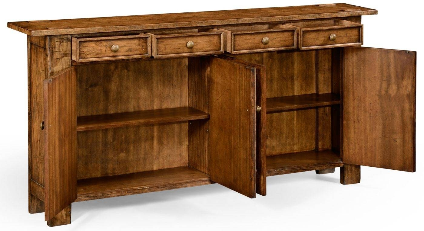 Narrow_Sideboard_Or_Buffet_P throughout Thin Sideboard Tables (Image 21 of 30)