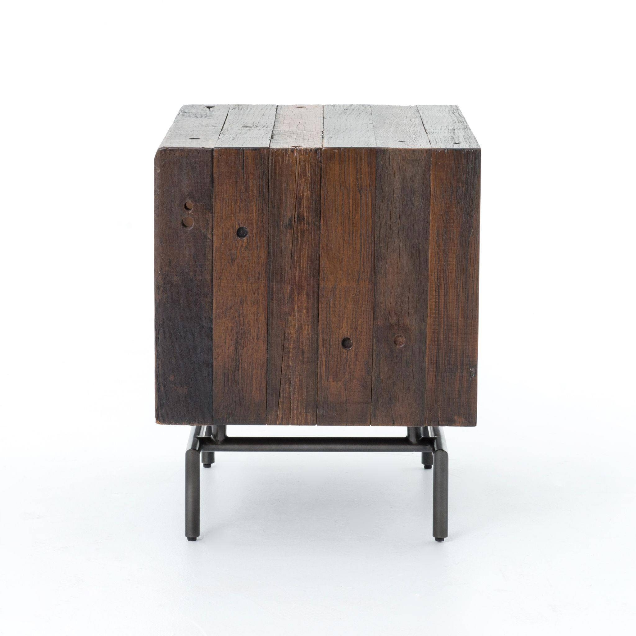 Nash Open Side Table W/ Metal Legsfour Hands | Wolf And inside Four Hands Sideboards (Image 22 of 30)