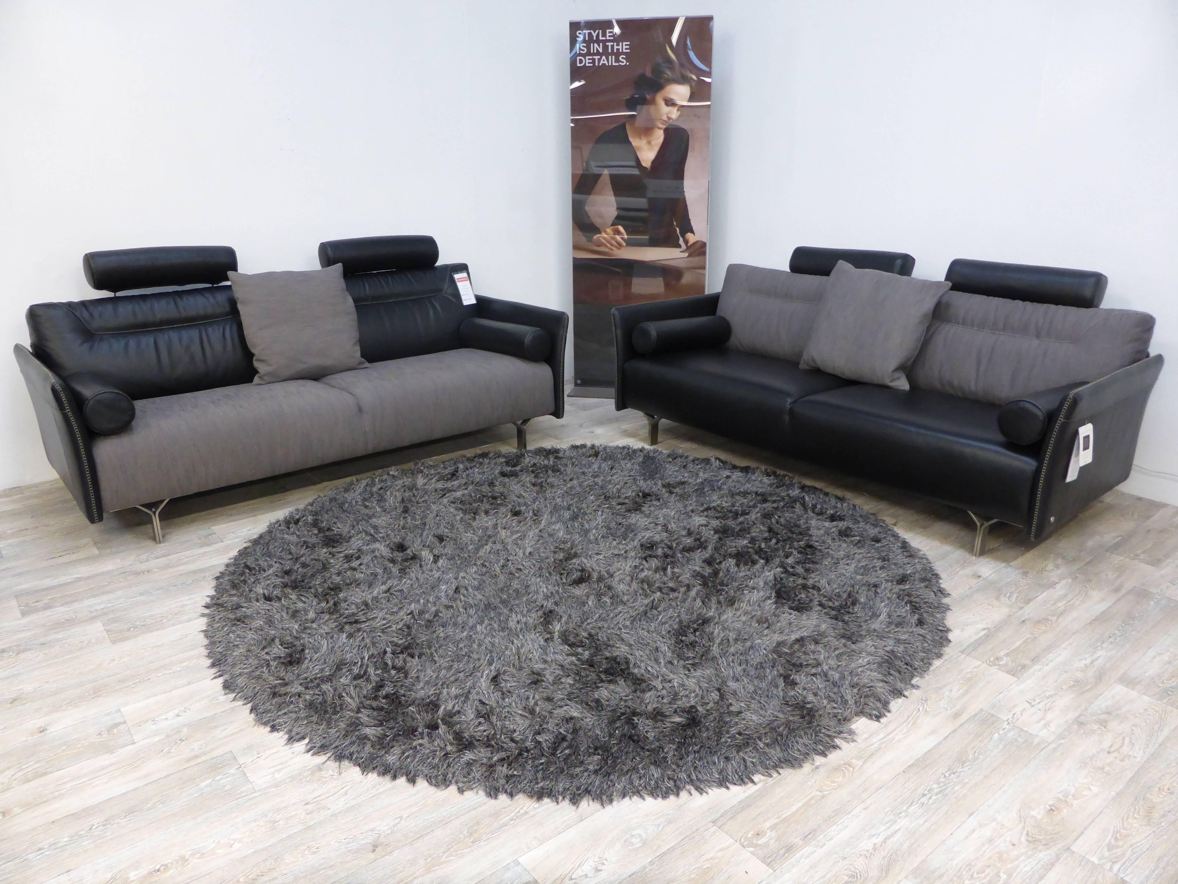 Natuzzi Fabric Sofa - Bible-Saitama with Leather And Material Sofas (Image 20 of 30)