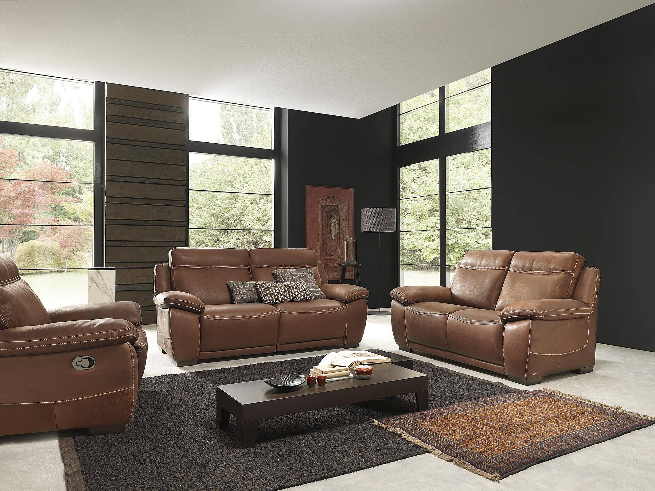 Natuzzi Florence Chair. Florence Leather Sofa With Narrow Track with Florence Leather Sofas (Image 26 of 30)