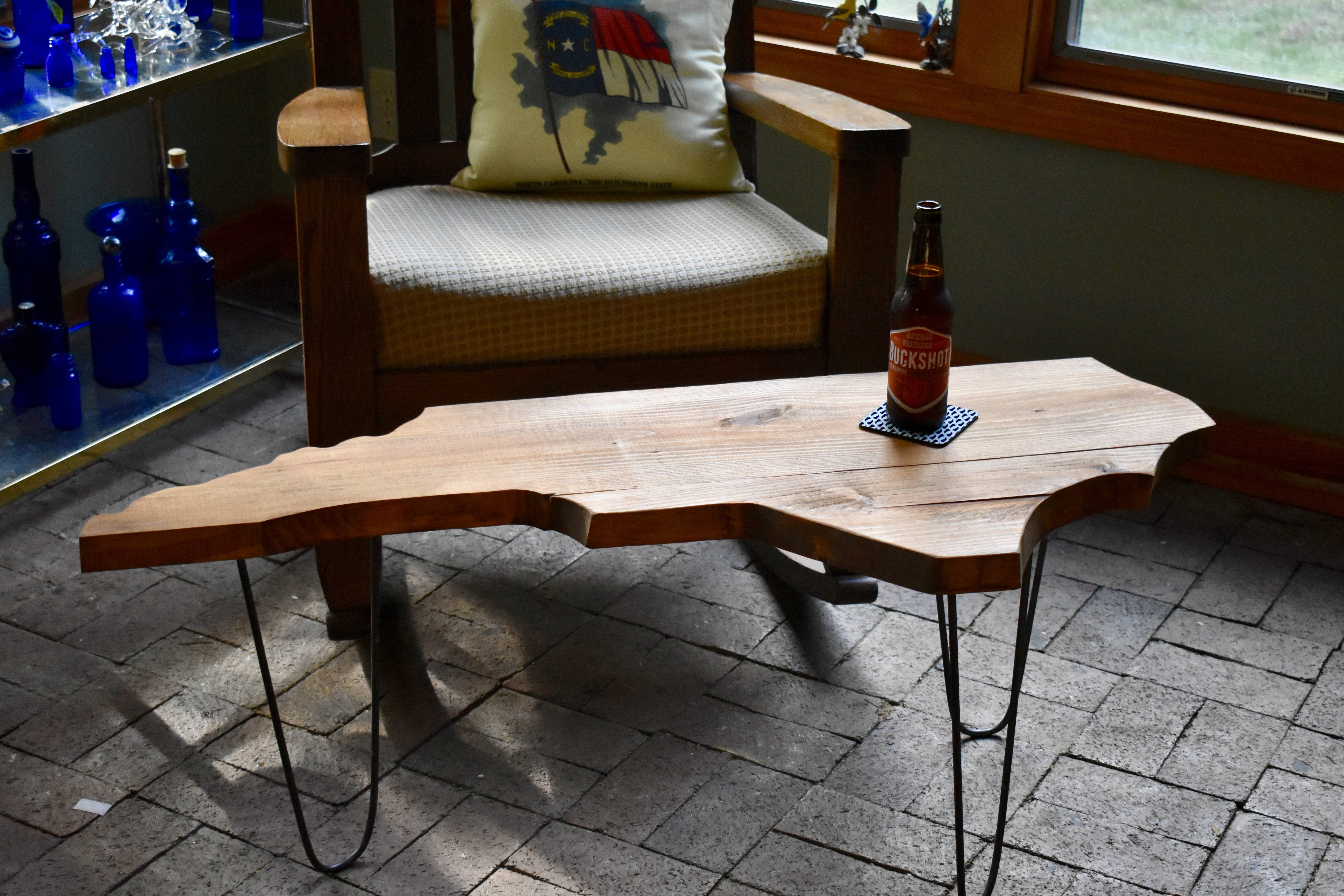 Nc Barnwood Coffee Table | Design Archives™ Emporium: Greensboro with regard to Rustic Barnwood Coffee Tables (Image 21 of 30)