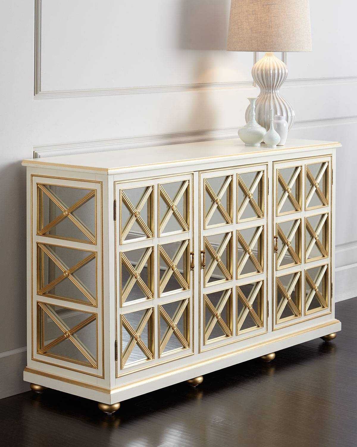 Neiman Marcus Mirrored Furniture – Harpsounds.co throughout White Mirrored Sideboards (Image 14 of 30)