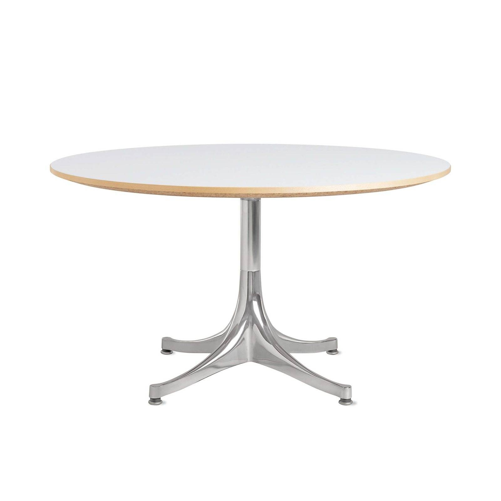 Nelson Pedestal Table 5452George Nelson For Herman Miller | Up within Nelson Coffee Tables (Image 21 of 30)