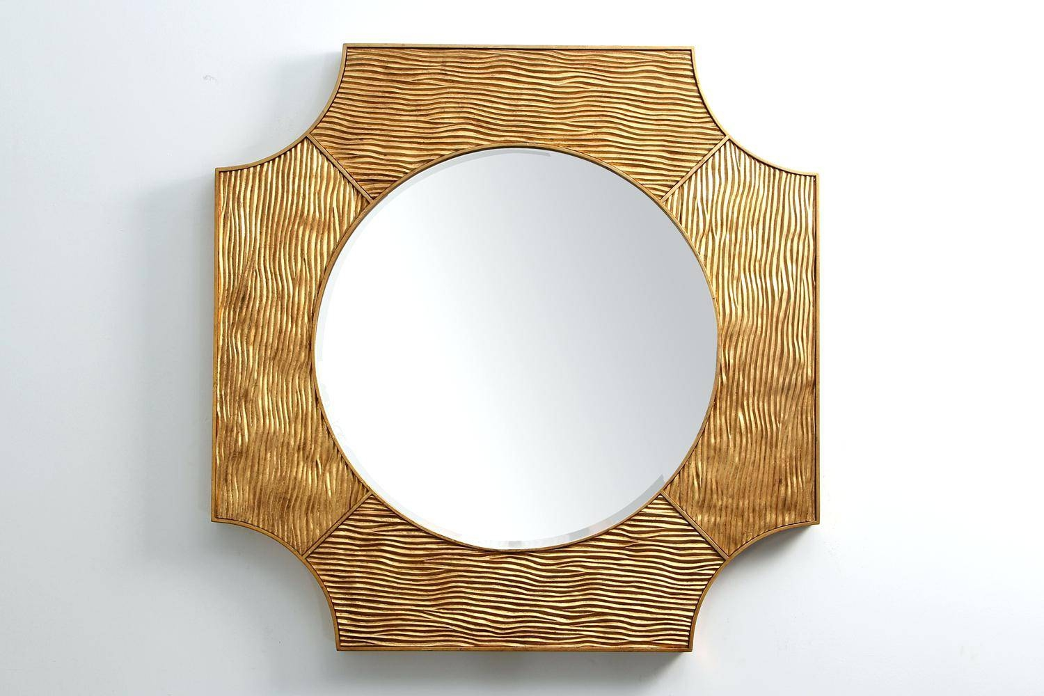 Neod Home Modern Gold Mirrormodern Mirrors Coast Sunburst Mirror throughout Modern Gold Mirrors (Image 19 of 25)