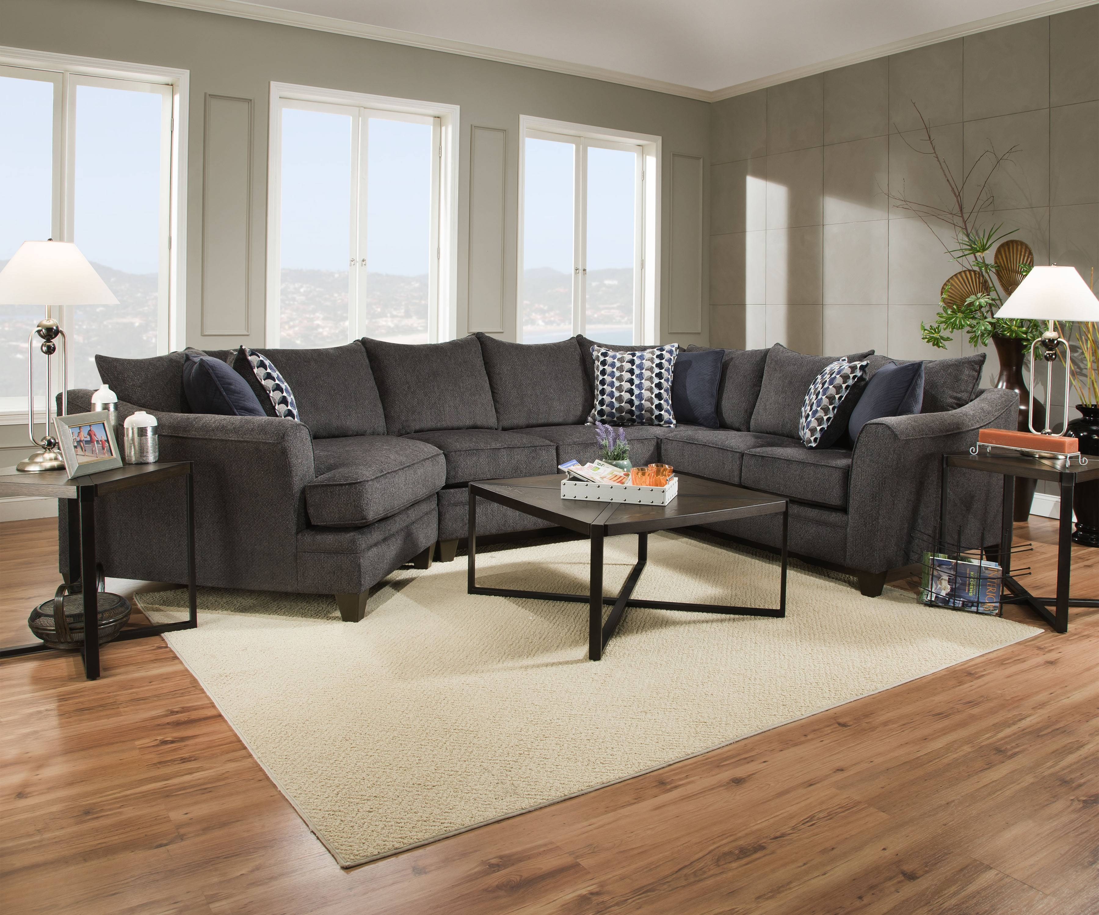 New Albany Sectional Sofa 84 For Corinthian Sectional Sofa With with Corinthian Sectional Sofas (Image 21 of 30)