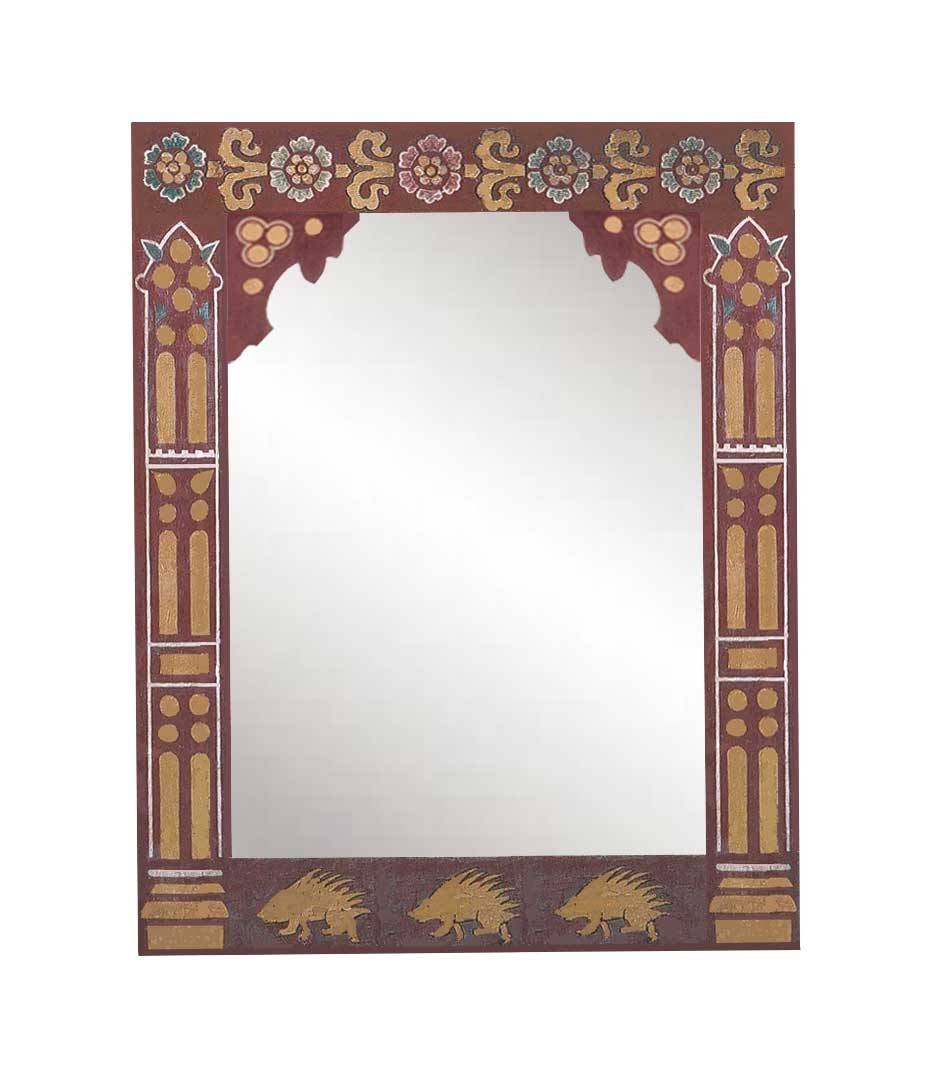 New Gothic Revival Mirrors & Mirror Frames, Carved Painted Gilded throughout Gothic Style Mirrors (Image 20 of 25)