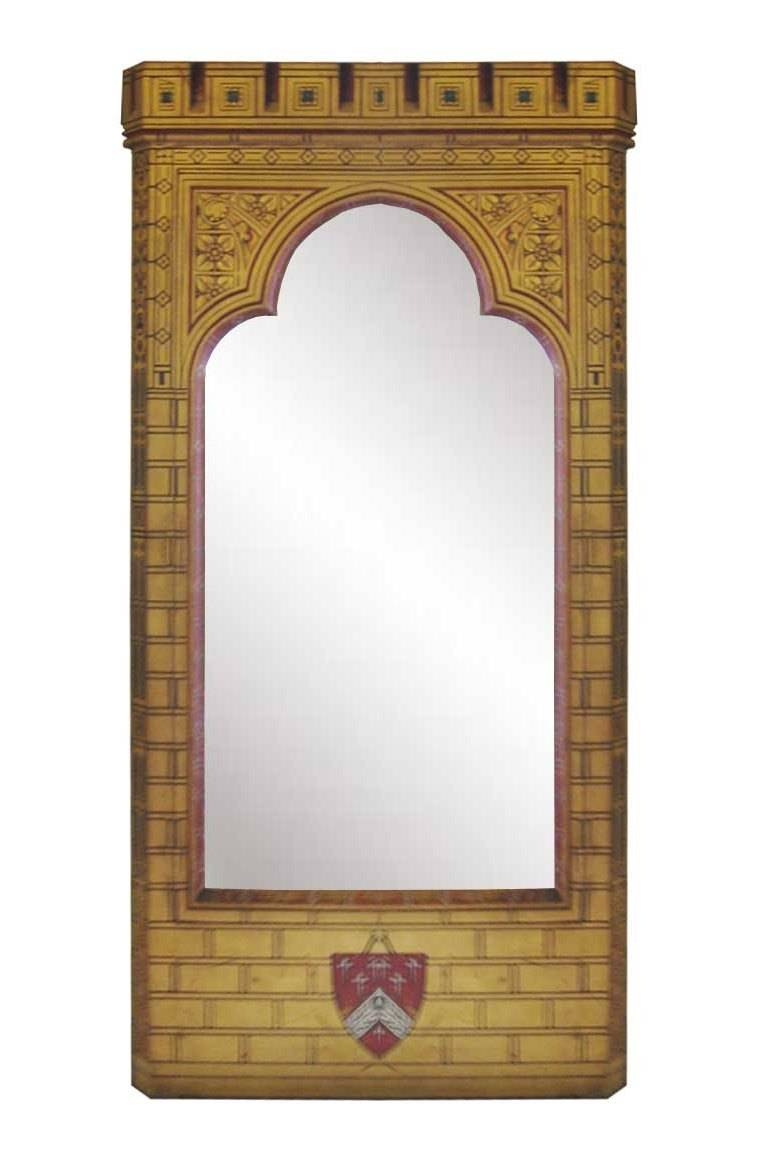 New Gothic Revival Mirrors & Mirror Frames, Carved Painted Gilded With  Regard To Gothic