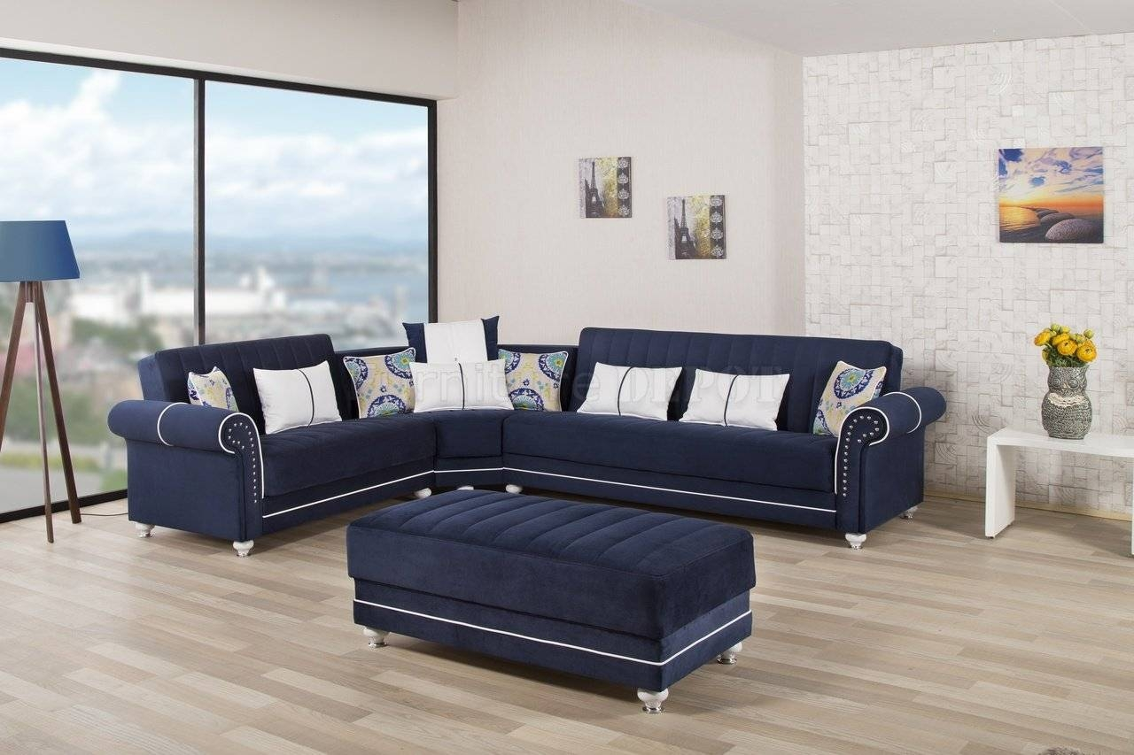 New Ideas Dark Blue Sofas With Royal Home Sectional Sofa In Dark inside Dark Blue Sofas (Image 15 of 30)