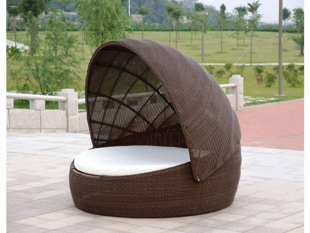 New Outdoor Daybed With Canopy : Home Designing - Outdoor Daybed pertaining to Outdoor Sofas With Canopy (Image 16 of 30)