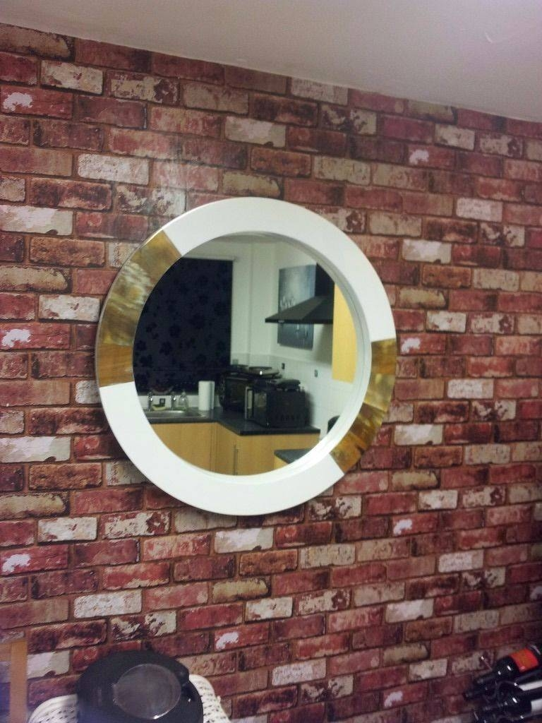 New Porthole Style Mirror,faux Tortoise Style 80Cm X 80Cm | In in Porthole Style Mirrors (Image 11 of 25)