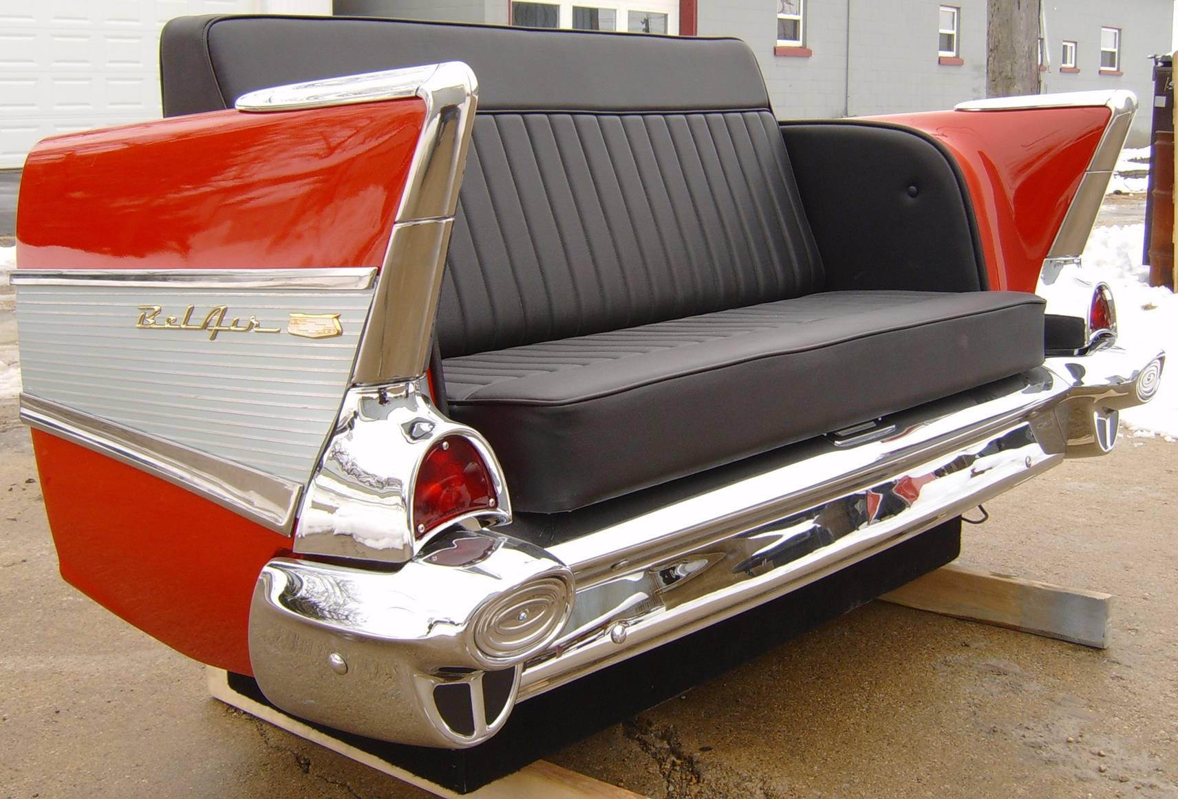 New Retro Cars : Restored Classic Car Furniture And Decor pertaining to Classic Sofas For Sale (Image 24 of 30)