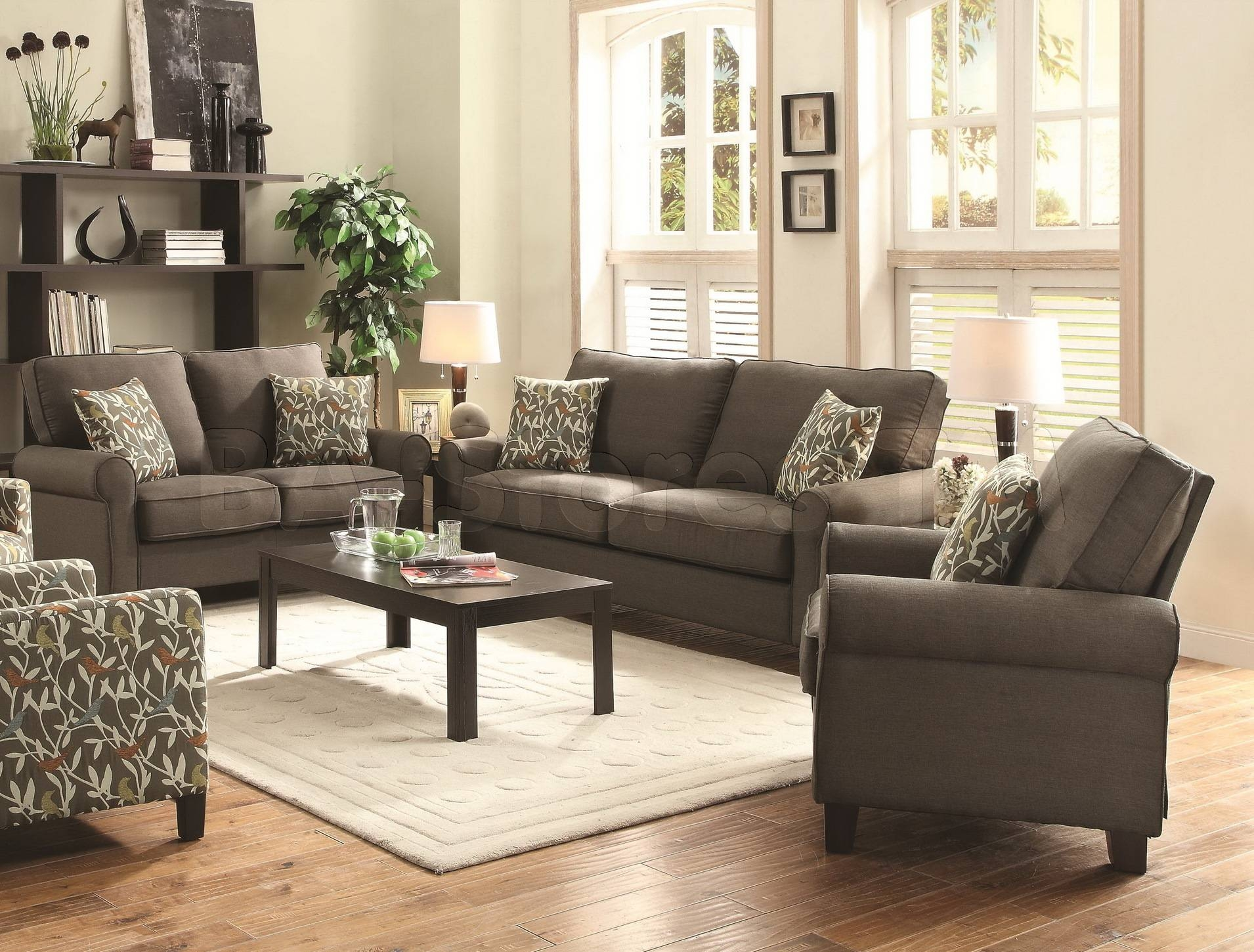 2017 Latest Sofa Loveseat and Chair Set