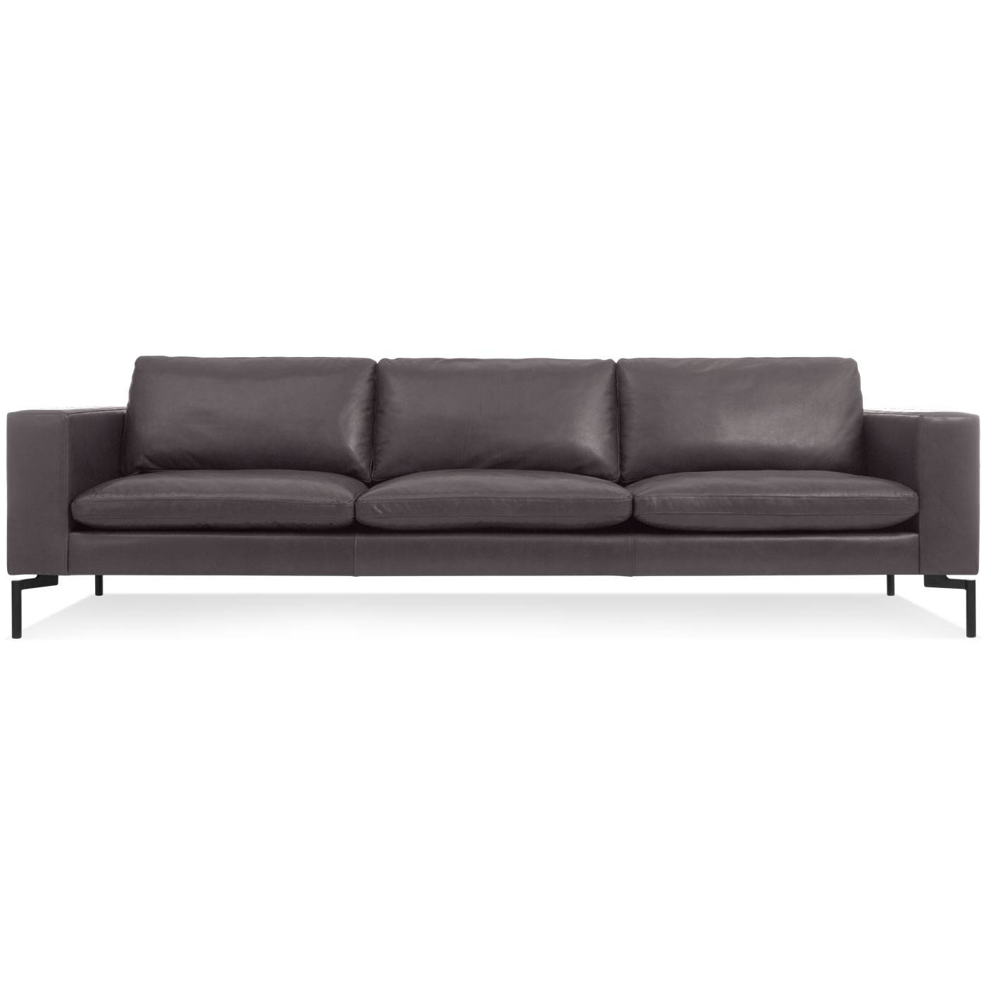 New Standard 104 Inch Leather Sofa – Modern Sofas And Sectionals Within 4 Seat Leather Sofas (View 16 of 30)