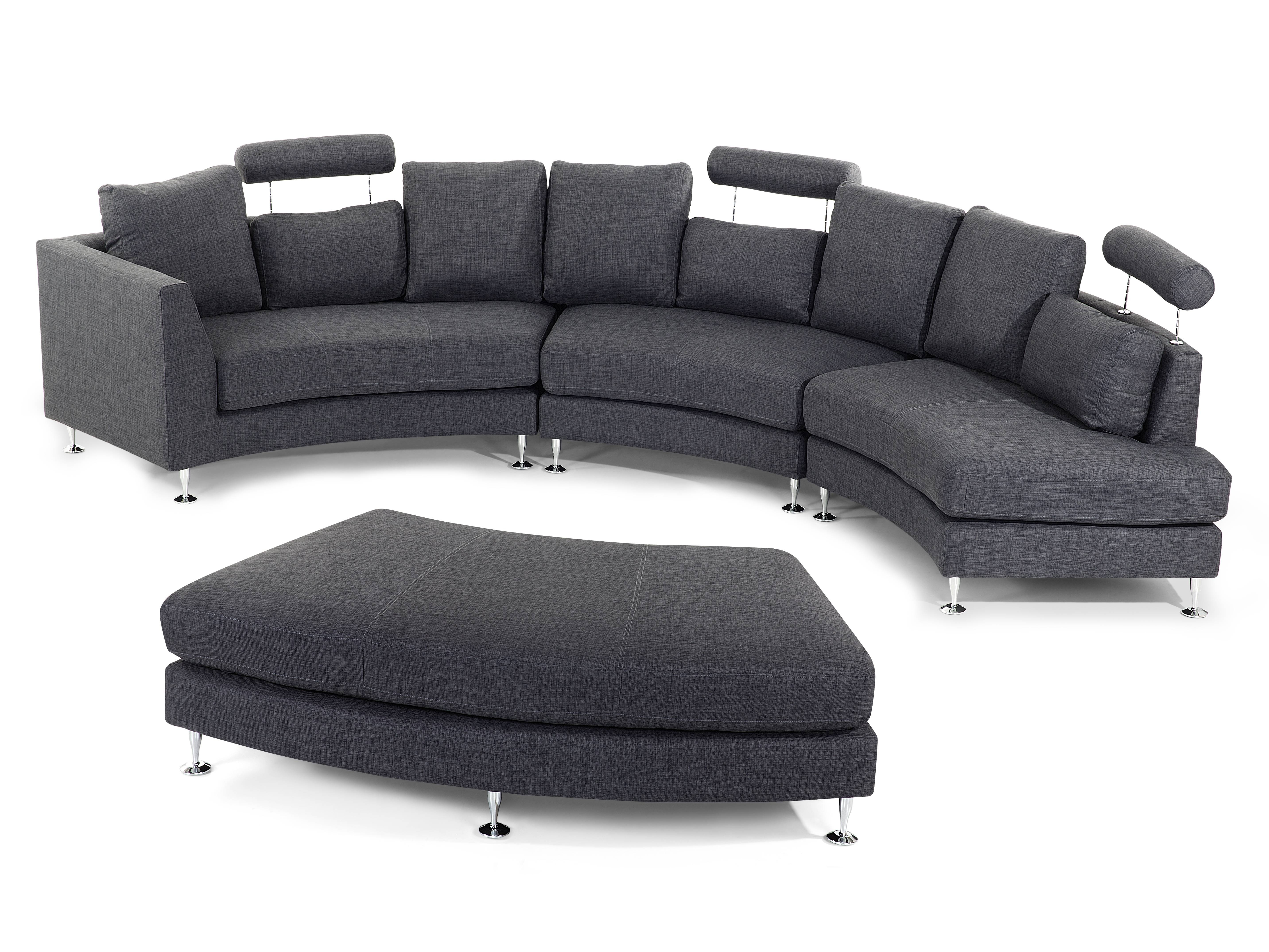 New Tweed Sectional Sofa 65 For Your Media Sofa Sectionals With with Media Sofa Sectionals (Image 17 of 25)