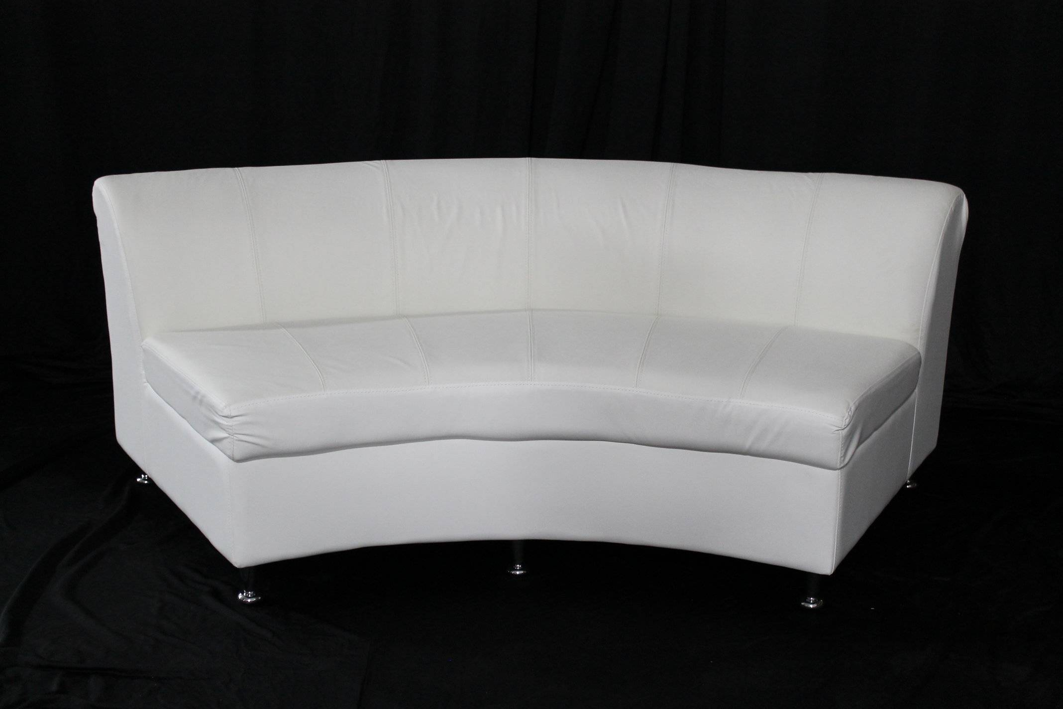 New White Leather Lounge Furniture Adds The Perfect Touch To throughout Leather Lounge Sofas (Image 21 of 30)