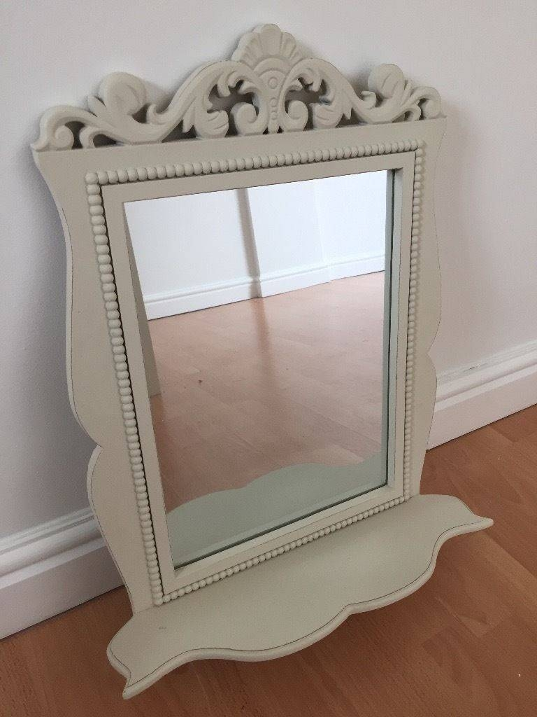 Next Cream Ornate Mirror With Shelf | In Upton, Cheshire | Gumtree intended for Cream Ornate Mirrors (Image 15 of 25)