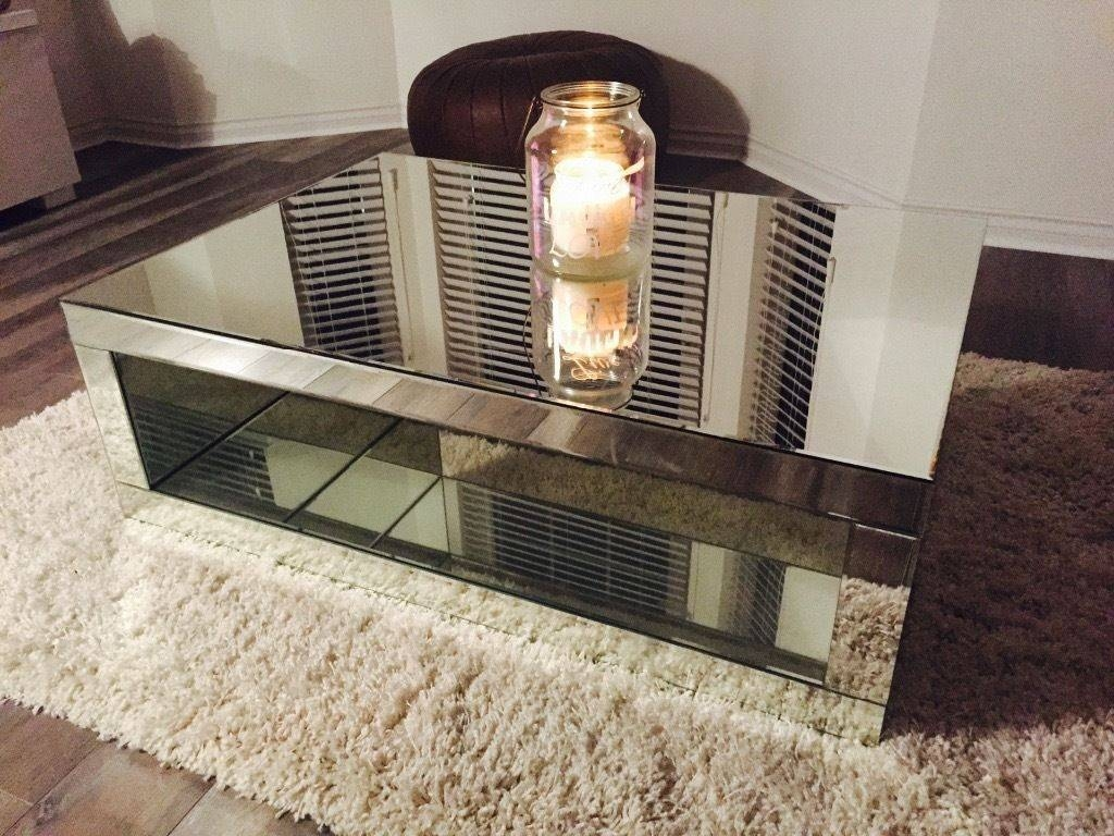 Next Mirrored Coffee Table From Mae Range, Excellent Condition Intended For Range Coffee Tables (View 24 of 30)