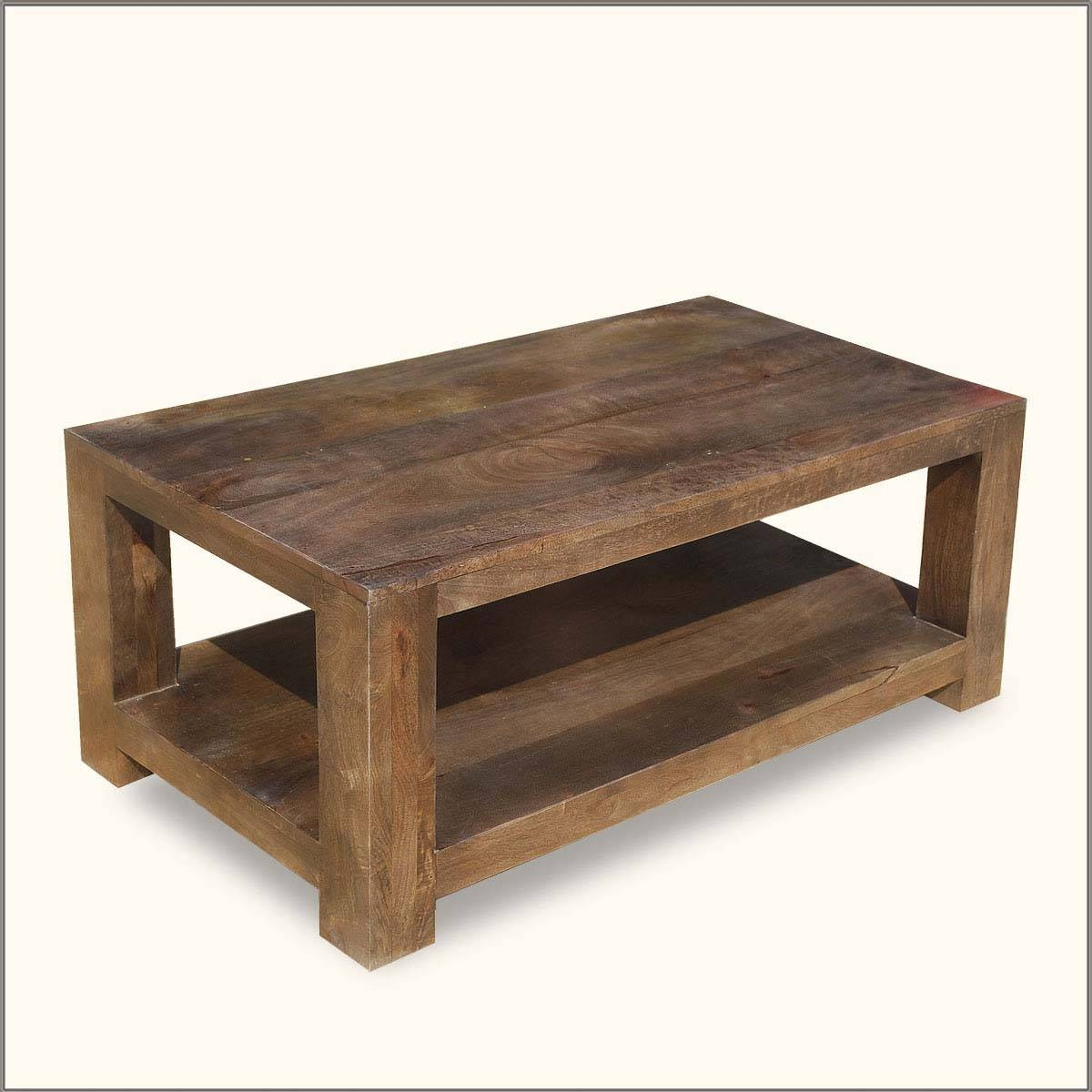 Nice Coffee Tables Rustic Wood With Coffee Table Rustic Coffee pertaining to Mango Coffee Tables (Image 25 of 30)