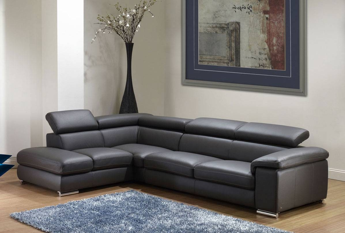 Nicoletti Angel Leather Sectional Sofa | Leather Sectionals inside Leather Sofa Sectionals For Sale (Image 17 of 30)