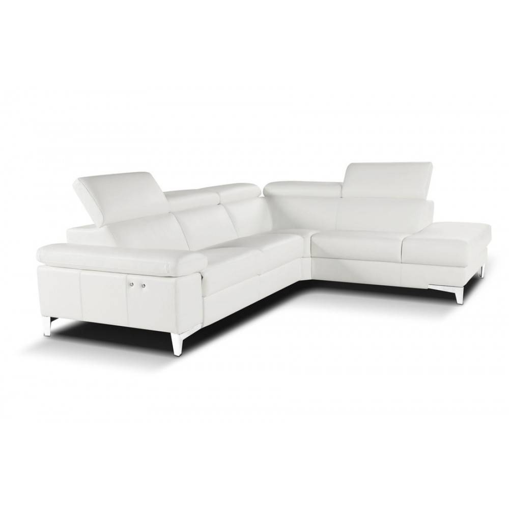 Nicoletti Megan Sectional Sofa With Electric Recliner, Nicoletti pertaining to Sectional Sofas With Electric Recliners (Image 25 of 30)