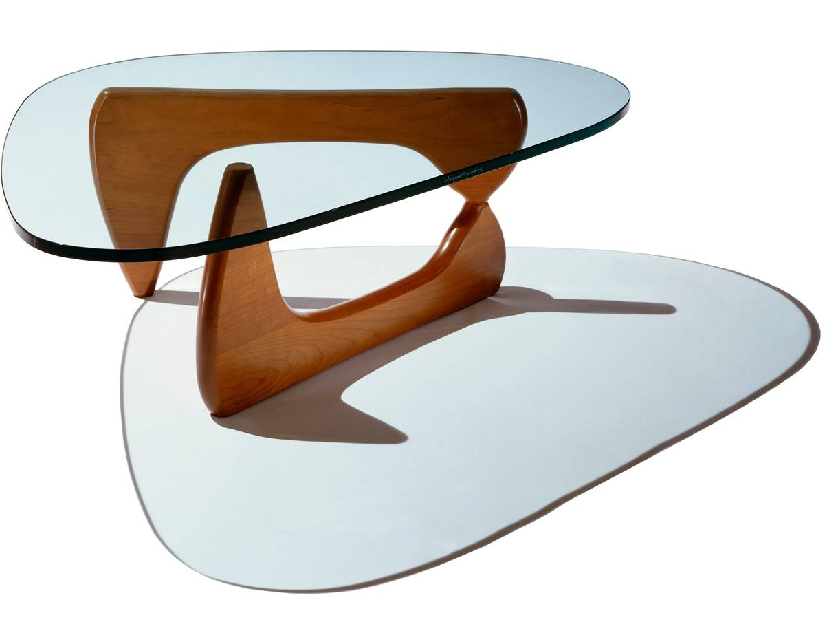 Noguchi Coffee Table - Hivemodern with regard to Noguchi Coffee Tables (Image 10 of 30)