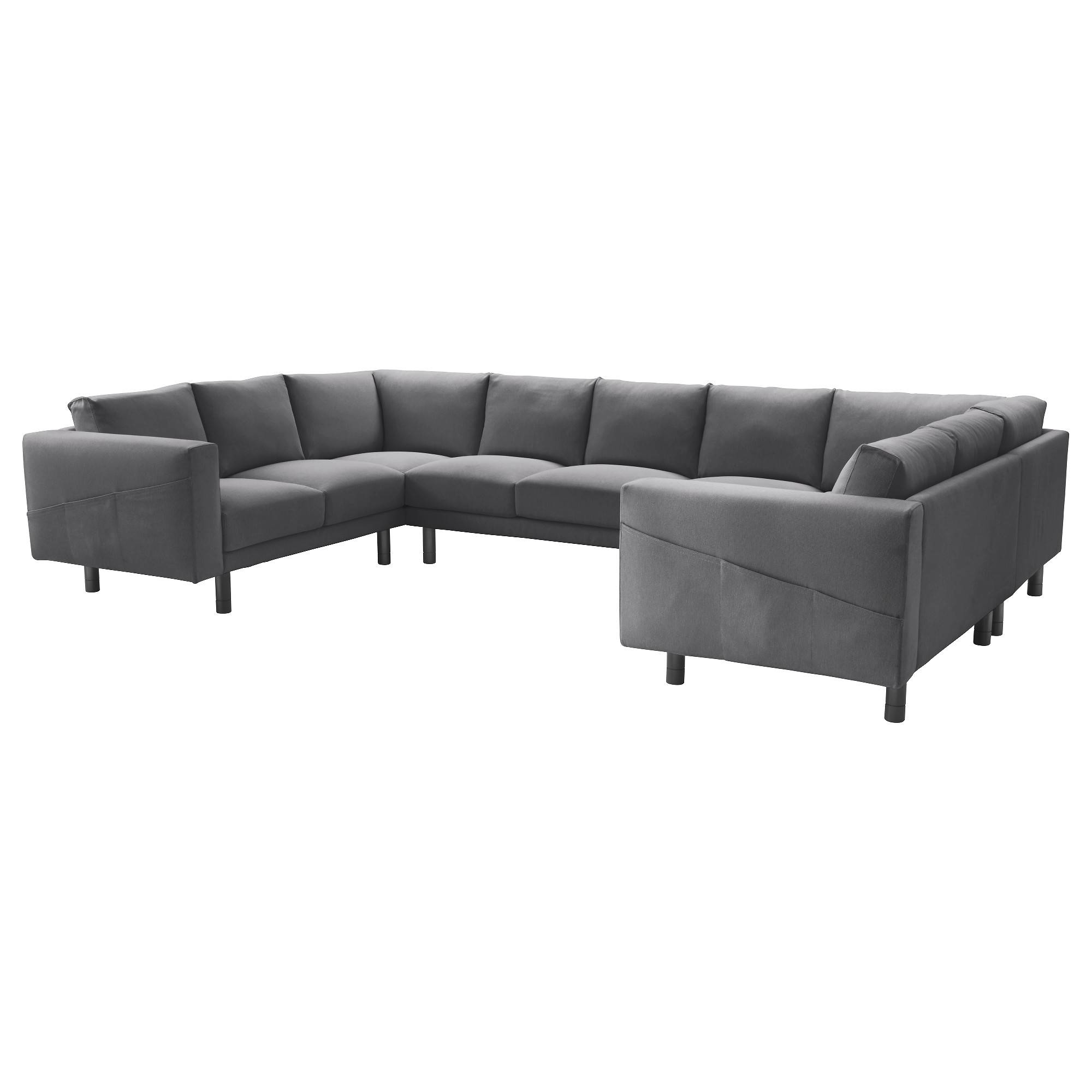 Norsborg Sectional, 7-Seat - Finnsta Dark Gray, Gray - Ikea pertaining to 2 Seat Sectional Sofas (Image 20 of 30)