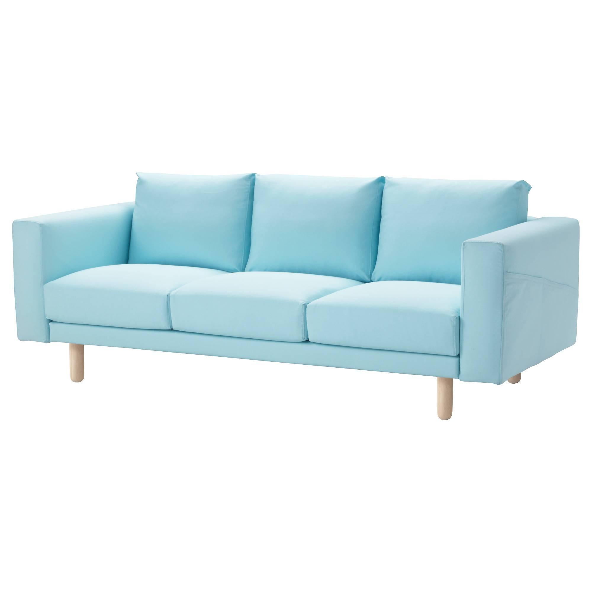 Norsborg Sofa - Finnsta Dark Gray, Birch - Ikea intended for Aqua Sofa Beds (Image 24 of 30)