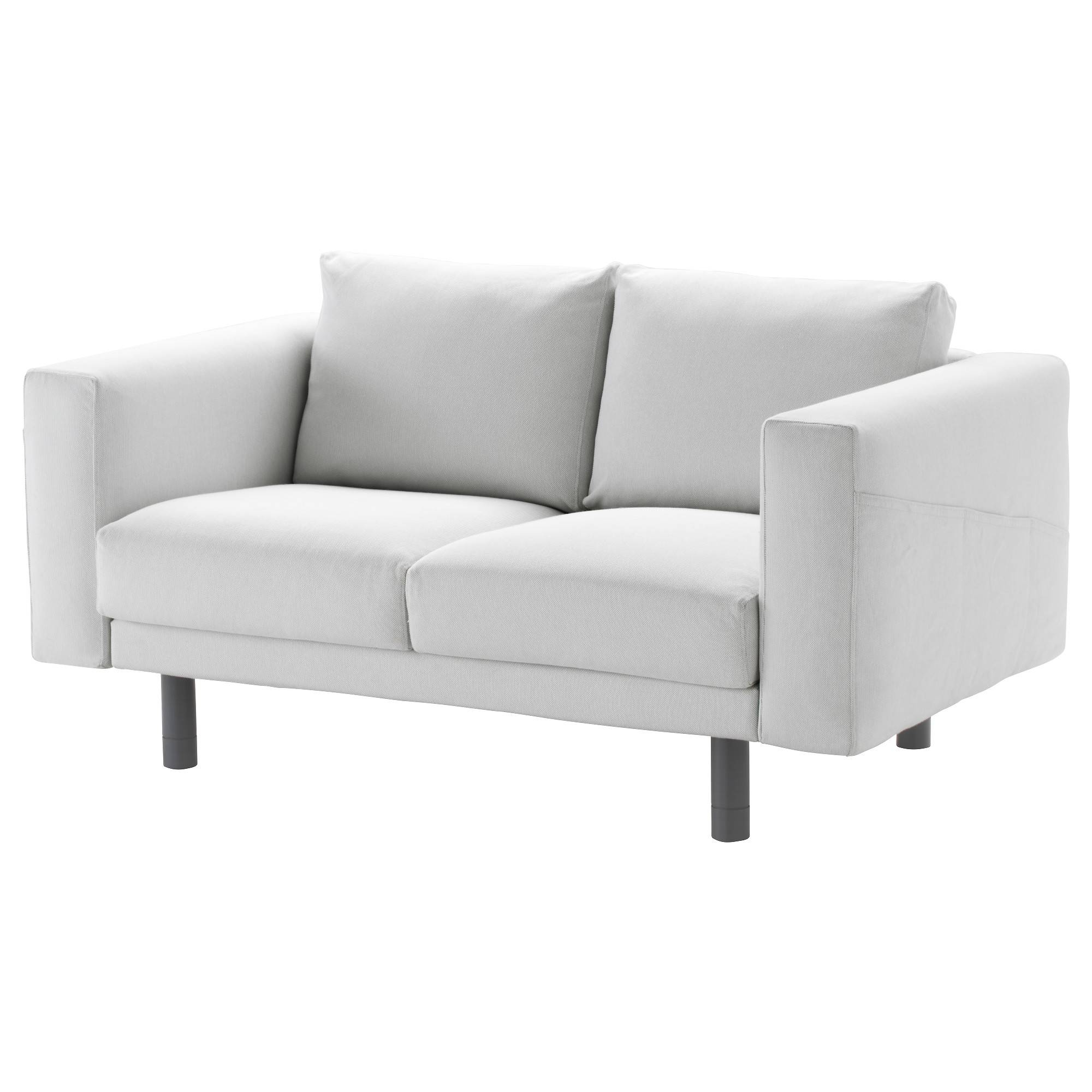 Norsborg Two-Seat Sofa Finnsta White/grey - Ikea with regard to Ikea Two Seater Sofas (Image 20 of 30)