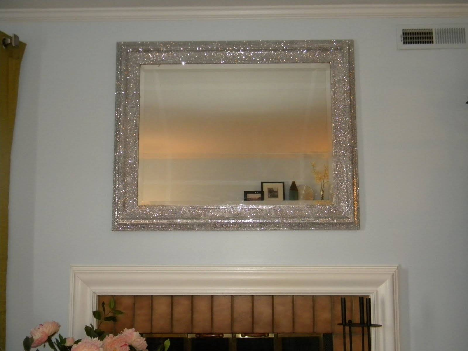 Not Just Teachdo!!: Diy-Ed Mirror throughout Glitter Frame Mirrors (Image 22 of 25)