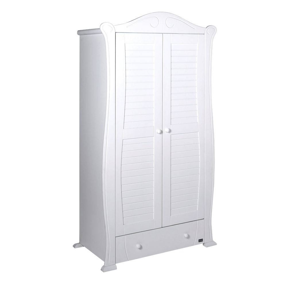 Nursery Wardrobe White ~ Thenurseries For Cheap Baby Wardrobes (View 25 of 30)