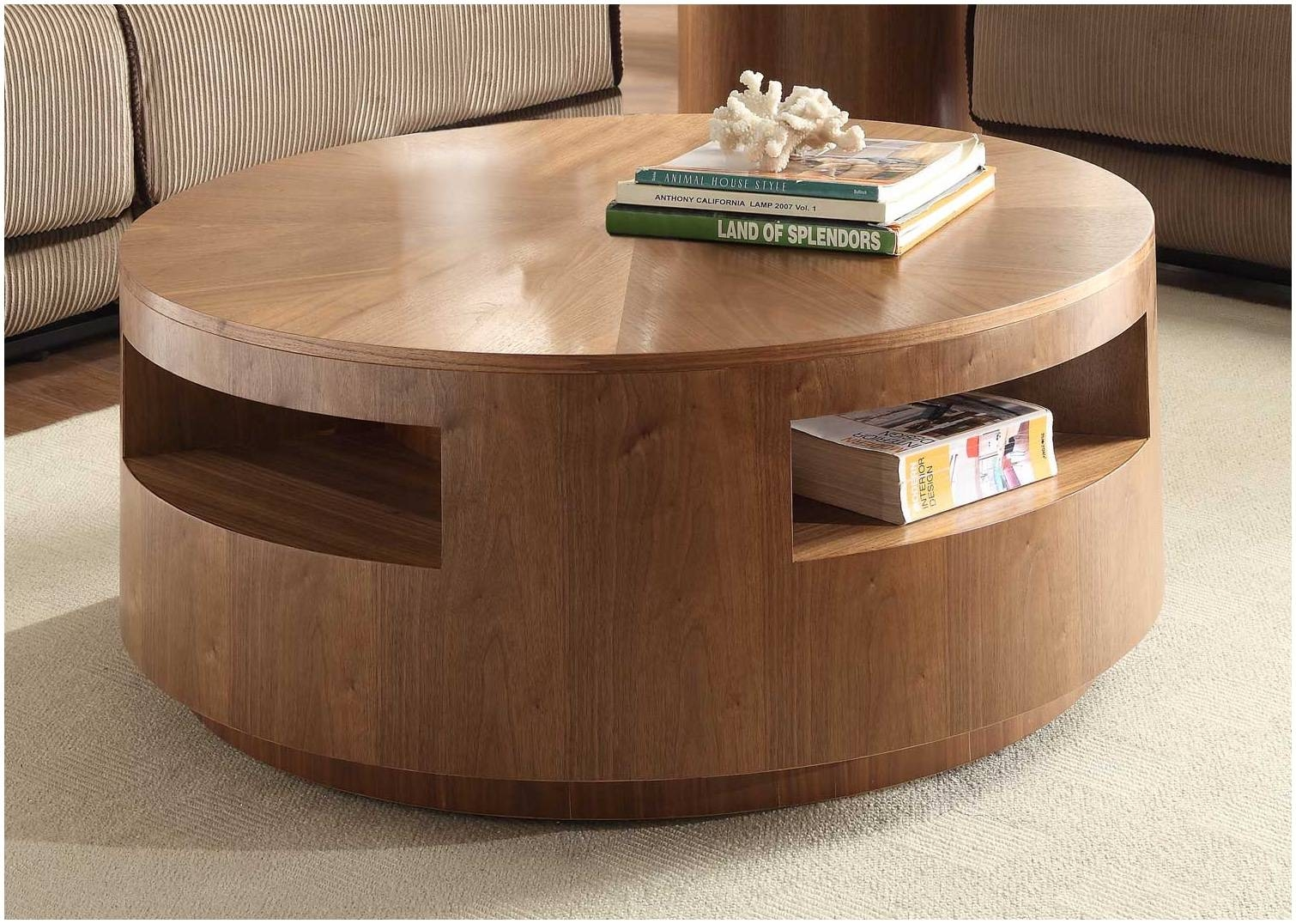 Oak And Glass Coffee Table Uk – Cocinacentral.co inside Round Oak Coffee Tables (Image 18 of 30)