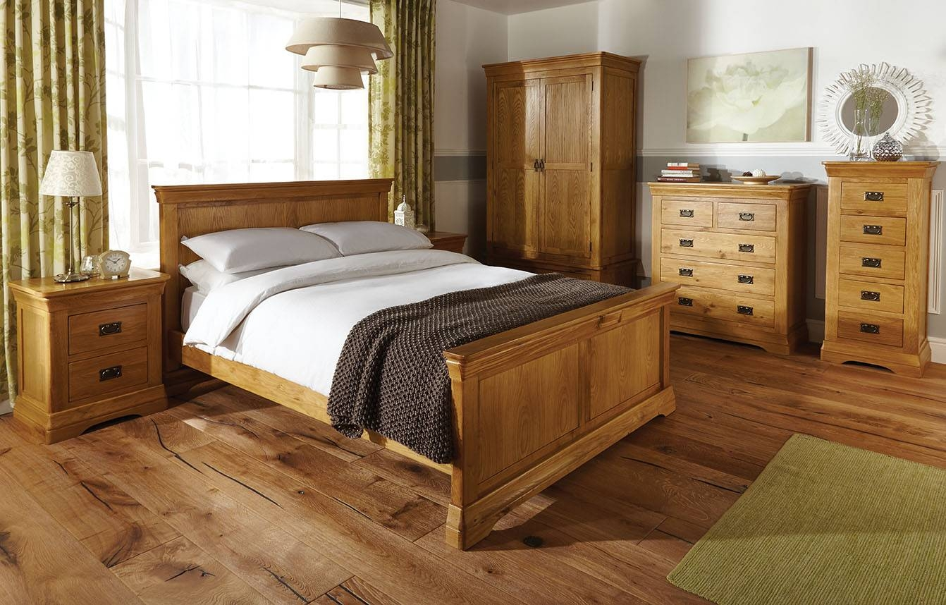 Oak Bedroom Furniture From Uk Leader In Home Furniture throughout Oak Wardrobes For Sale (Image 7 of 15)