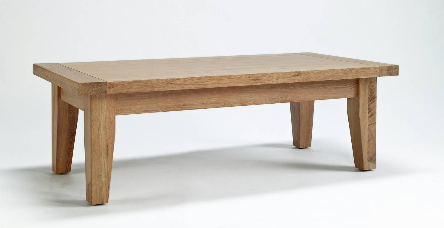 Oak Coffee Table View More Details A Solid Friendly Oak Coffee Regarding Large Low Oak Coffee Tables (View 7 of 30)