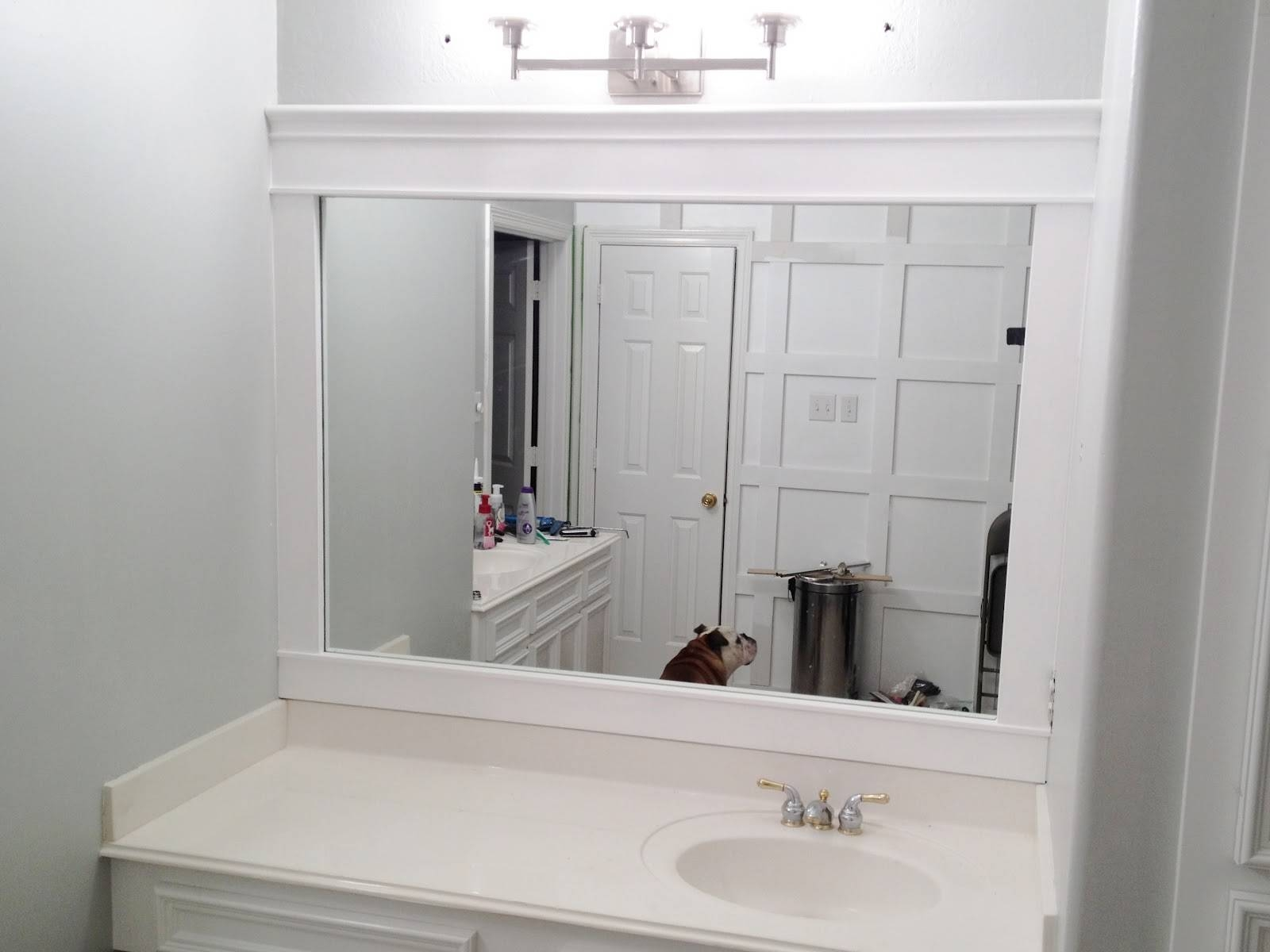 Oak Framed Bathroom Mirrors 118 Stunning Decor With Small Vanity within Large Oak Framed Mirrors (Image 11 of 25)