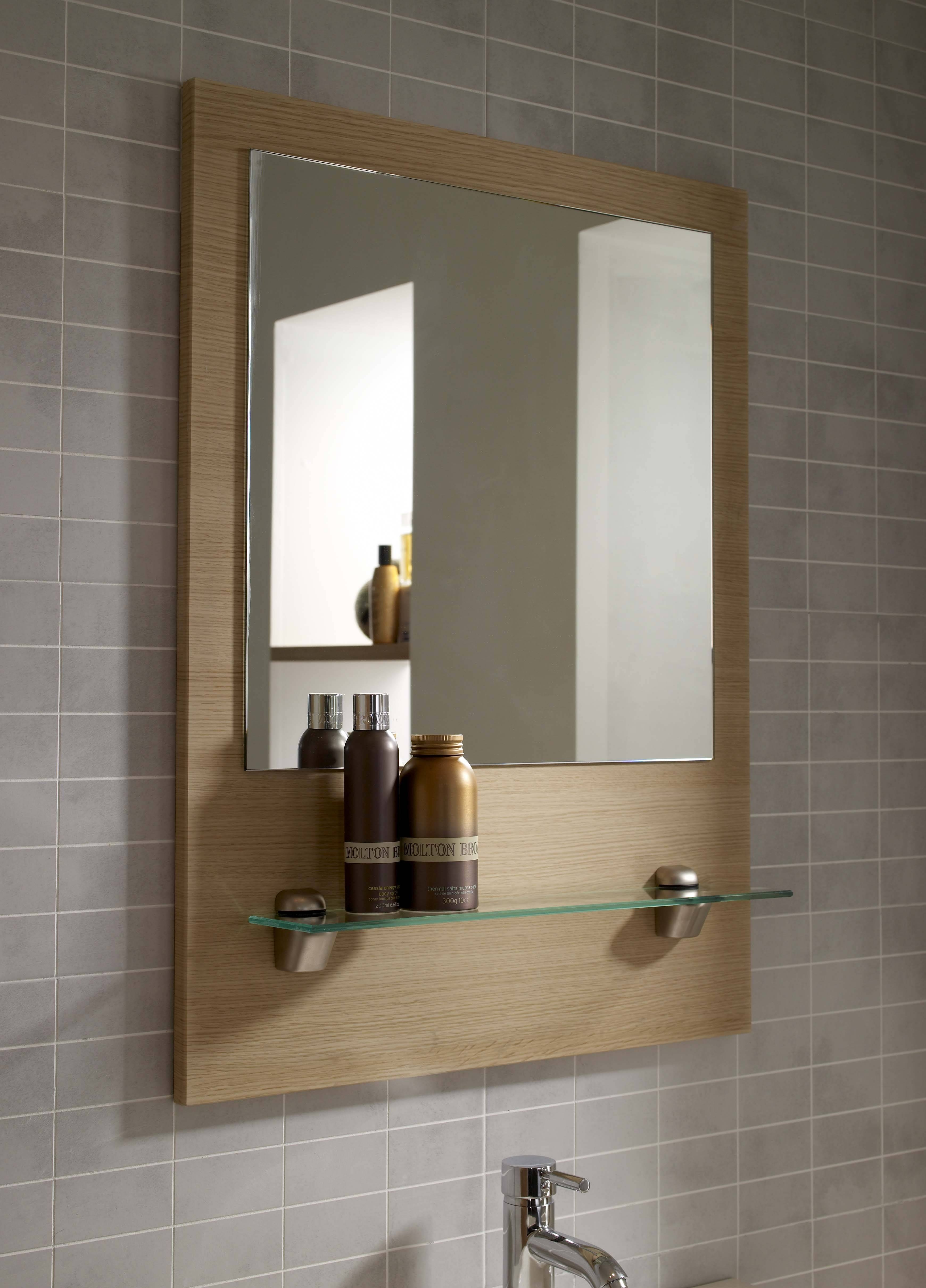 Oak Framed Bathroom Mirrors – Harpsounds.co throughout Oak Framed Wall Mirrors (Image 11 of 25)