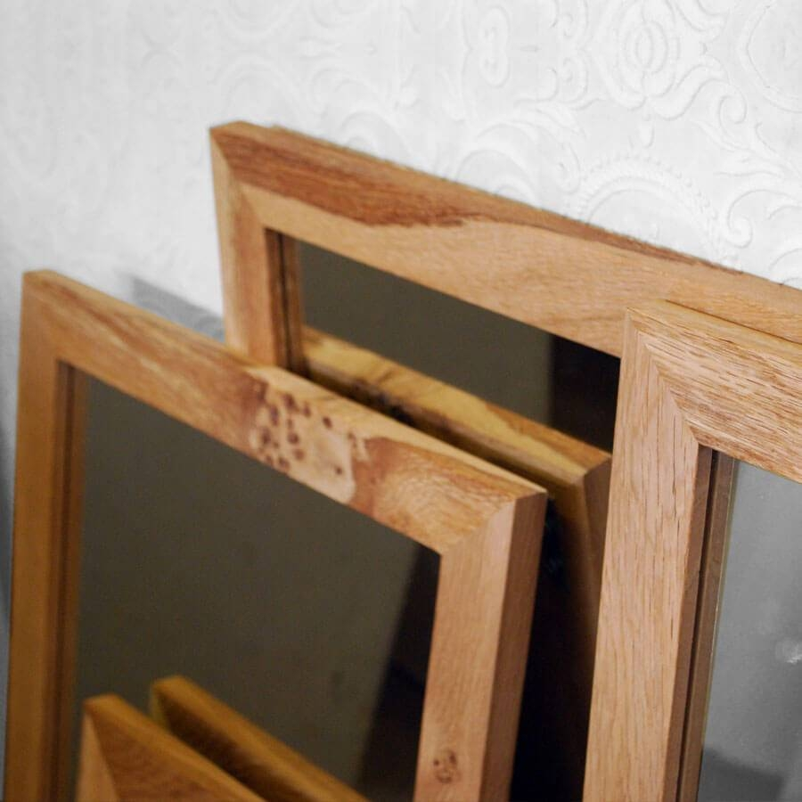 Oak Framed Wall Mirror – Harpsounds.co pertaining to Oak Framed Wall Mirrors (Image 20 of 25)