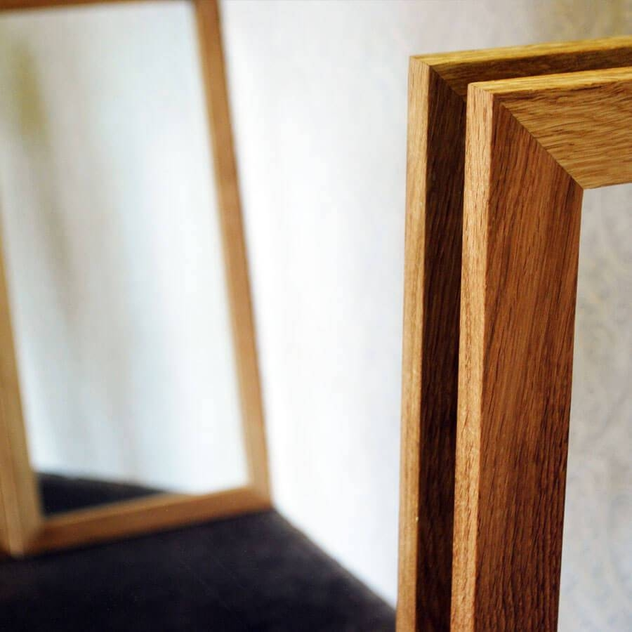 Oak Framed Wall Mirror – Harpsounds.co throughout Oak Framed Wall Mirrors (Image 21 of 25)