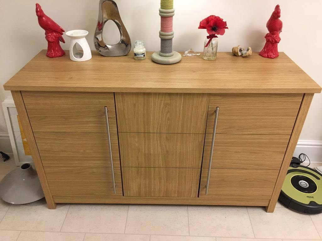 Oak Ready Assembled Sideboard (Norfolk) | Home & Garden pertaining to Ready Assembled Sideboards (Image 21 of 30)