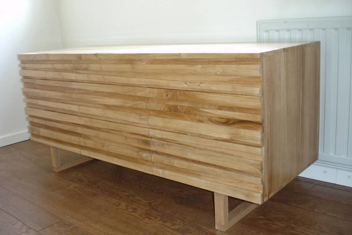 Oak Sideboard | Mw Works intended for Contemporary Oak Sideboards (Image 15 of 30)