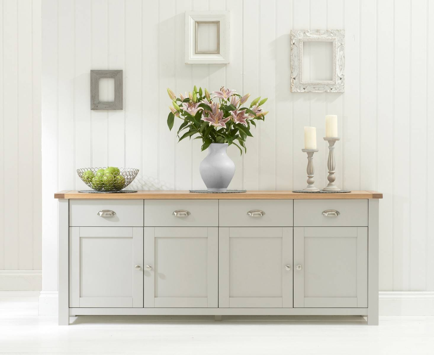 Oak Sideboards | Oak Furniture Superstore pertaining to Cream Sideboards (Image 15 of 30)